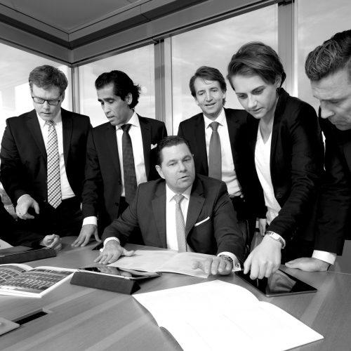 Image-Firmen-Gruppenbild